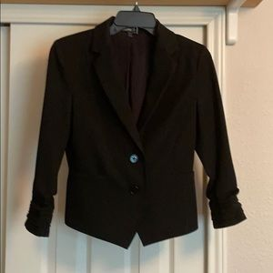 Black Express Work Blazer